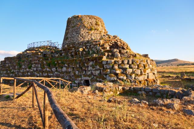 sito nuragico in Sardegna