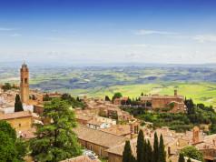 panorama di Montepulciano