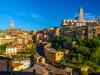 vista di Siena in Toscana