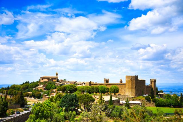 La città di Montalcino