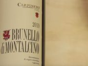 Brunello wine pairing