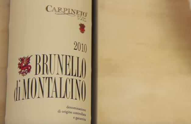 Brunello wine pairing