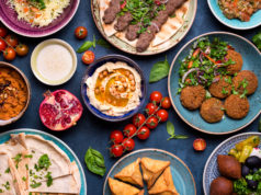 Wine & Middle Eastern Food