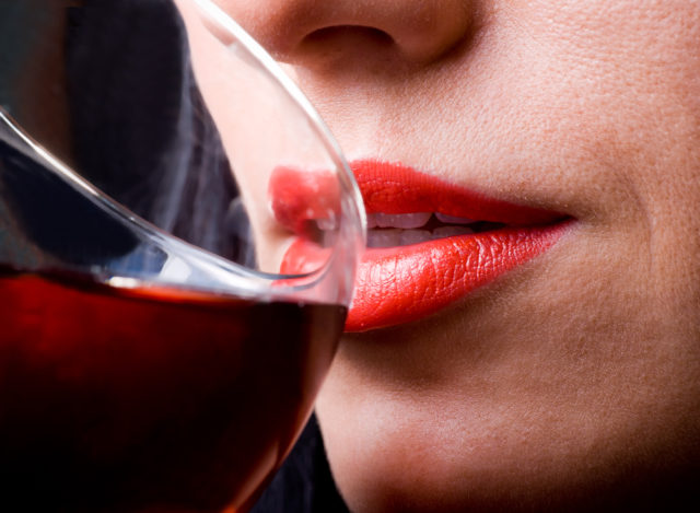 Virginia Woolf and wine