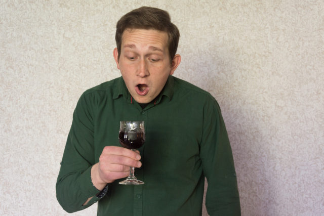 Distillato realizzato dal vino sputato
