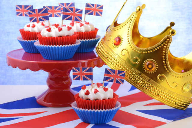 UK Royal wedding menu