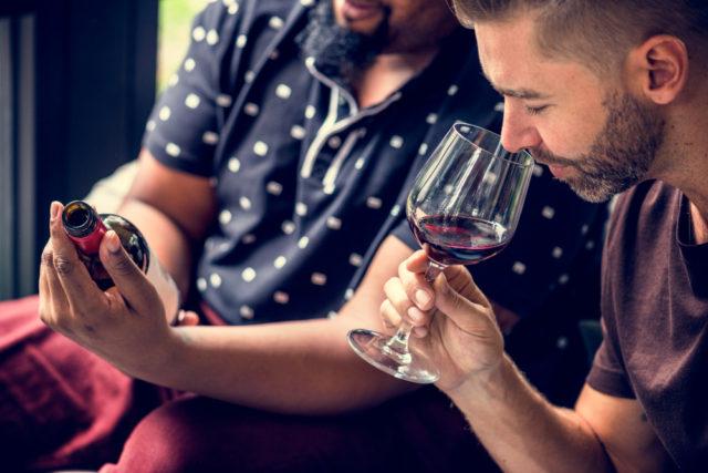 sensazioni tattili del vino