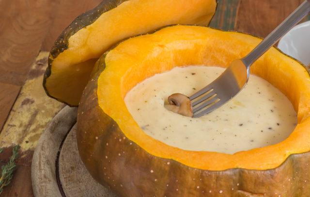 how to make pumpkin fondue