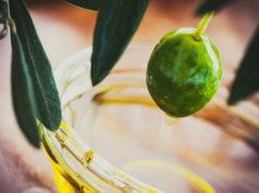 assaggiare l'olio d'oliva extravergine